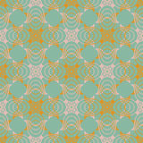 Victorina pattern in natural colors Stock Photos