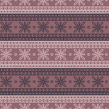 Seamless vector pattern. Symmetrical geometric background with colorful squares and flowers on the pink backdrop. Decorative ornam Stock Photo