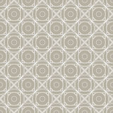 Seamless vector pattern. Symmetrical geometric background with white rhombus on the grey backdrop. Decorative repeating ornament Stock Images