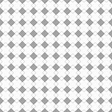 Seamless vector pattern. Symmetrical geometric black and white background with rhombus and lines. Decorative repeating ornament.  Stock Images