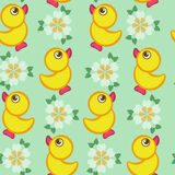 Seamless vector pattern with toys Royalty Free Stock Photography