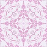 Seamless vector pattern tracery pink Stock Photos