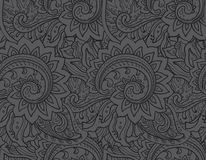 Seamless vector pattern with traditional oriental Royalty Free Stock Photos