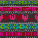 Traditional andean knitting pattern Royalty Free Stock Photography