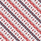 Seamless traditional romanian pattern Royalty Free Stock Photography