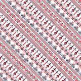 Seamless traditional romanian pattern Stock Photography