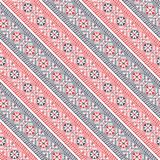 Seamless traditional romanian pattern Stock Photos