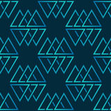 Seamless vector pattern with triangles stock photos