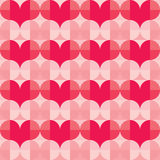 Seamless Vector Pattern for Valentine's Day Stock Photo