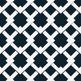 Seamless vector pattern with white rhombuses Royalty Free Stock Photography