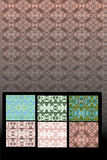 Seamless Vector Patterns Royalty Free Stock Photo
