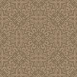 Fully filled flowers n petals design seamless pattern background illustration in coffee tone. Seamless vector patterns illustrations for use in web backgrounds Stock Images