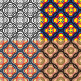 Seamless vector patterns Royalty Free Stock Image