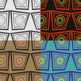 Seamless vector patterns Stock Photos