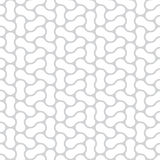 Seamless vector simple monochrome pattern Stock Image