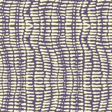 Seamless vector spots and strokes contrast lilac and yellow colours pattern. For fabric, textile, wrapping, ceramic Stock Photo
