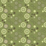 Seamless vector spring pattern Royalty Free Stock Images