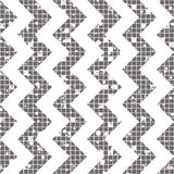Seamless vector striped pattern. geometric background with zigzag. Grunge texture with attrition, cracks and ambrosia. Old style v Royalty Free Stock Image
