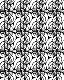 Seamless vector swirly wallpaper Stock Photography