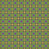 Seamless Vector Talavera Pattern and Background Royalty Free Stock Image