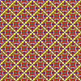 Seamless Vector Talavera Pattern and Background Stock Image