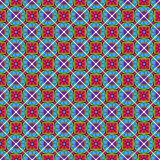 Seamless Vector Talavera Pattern and Background Stock Images
