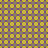 Seamless Vector Talavera Pattern and Background Royalty Free Stock Photos