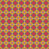 Seamless Vector Talavera Pattern and Background Royalty Free Stock Images