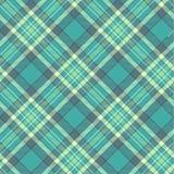 Seamless vector tartan pattern Stock Photography