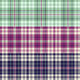 3 seamless vector tartan textures Royalty Free Stock Photography