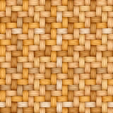 Seamless vector texture of weaving of motley straw Royalty Free Stock Photography