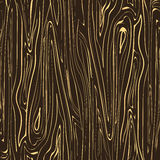 Seamless vector texture wood dark brown with blond streaks. Can be used in background elements Royalty Free Stock Image