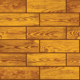 Seamless vector texture - wooden floor Royalty Free Stock Image