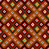 Seamless vector tribal background. Multicolored background. Stock Photography