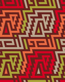 Seamless Vector Tribal Pattern for Textile Design Royalty Free Stock Image