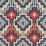 Seamless Vector Tribal Pattern for Textile Design Stock Photos