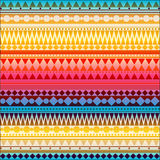 Seamless vector tribal texture pattern Stock Photos