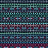 Seamless vector tribal texture. Tribal seamless texture. Vintage ethnic seamless backdrop. Boho stripes. Striped vintage boho fash Royalty Free Stock Image