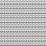 Seamless vector tribal texture. Tribal seamless texture. Vintage ethnic seamless backdrop. Boho stripes. Striped vintage boho fash Stock Image
