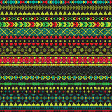 Seamless vector tribal texture. Tribal seamless texture. Vintage ethnic seamless backdrop. Boho stripes. Striped vintage boho fash Royalty Free Stock Photo