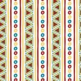 Seamless vector tribal texture. Tribal seamless Stock Photos