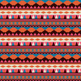 Seamless vector tribal texture. Tribal vector pattern. Colorful Stock Images