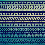 Seamless vector tribal texture. Tribal vector pattern. Colorful Royalty Free Stock Photos