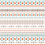 Seamless vector tribal texture. Tribal vector pattern. Stock Image