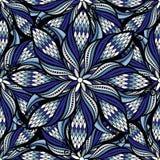 Seamless vector vintage hand drawn mandala pattern vector illustration