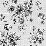 Seamless vector vintage pattern Royalty Free Stock Image
