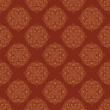 Seamless vector vintage terracotta pattern Stock Image