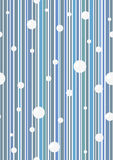 Seamless vector wallpaper. Seamless blue  wallpaper with circles. Easy to edit Stock Images
