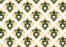 Seamless vector wallpaper 5. A seamless vector wallpaper in earth and green tones Royalty Free Illustration