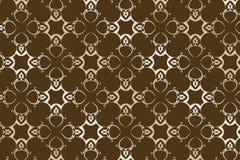 Seamless vector wallpaper 6. A seamless vector wallpaper in earth and green tones Vector Illustration